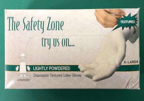 Non-Sterile Latex Glove (100/Box)