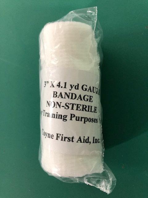 """3"""" X 4.1 yd Roll Bandage (12/box)"""