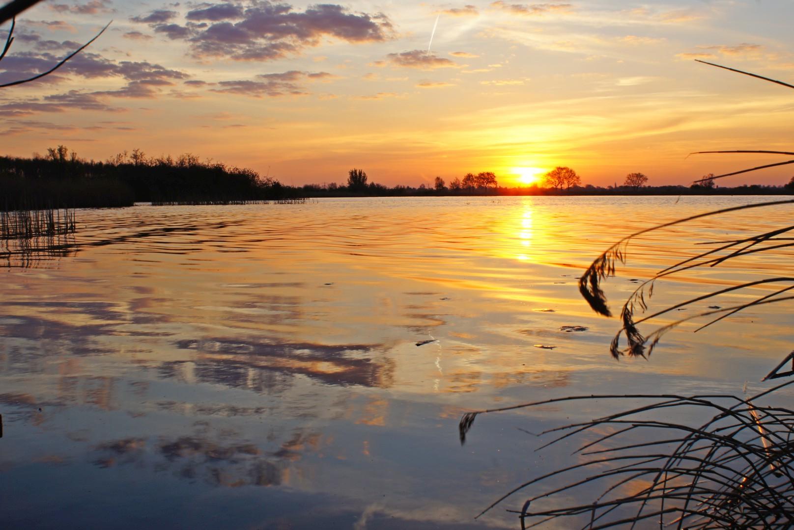 zon opkomst burgumermeer 1