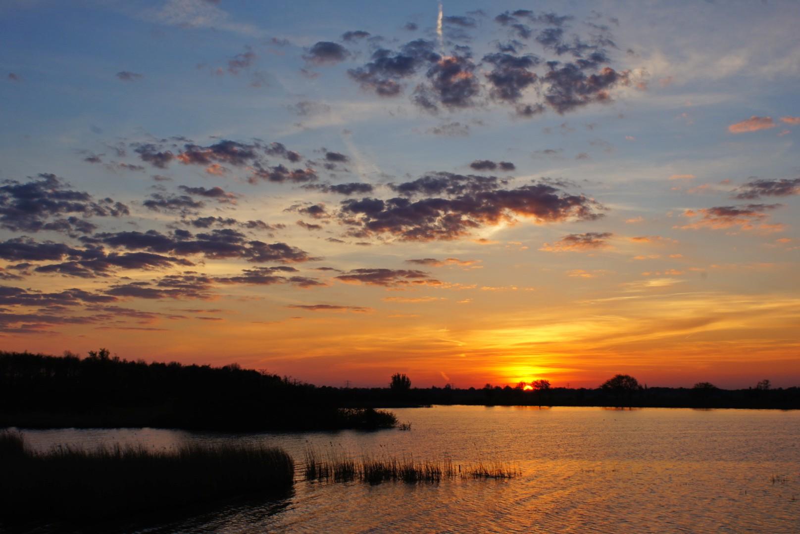 zon opkomst burgumermeer 2.