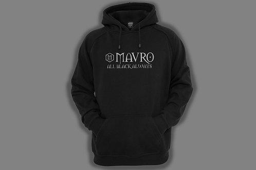 MAVRO BLACK HOODIE