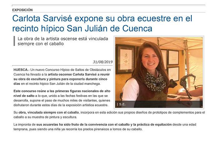 Carlota_Sarvisé_expone_su_obra_ecuestre_