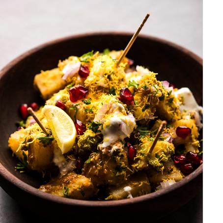 Aloo Chaat: Street Food Potatoes