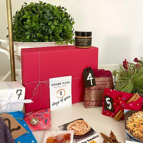 Spice Advent Calendar: 7 days of Indian meals