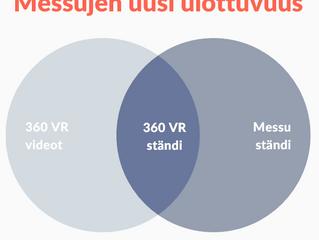 Virtuaalitodellisuus (VR) messuilla - messujen uusi ulottuvuus