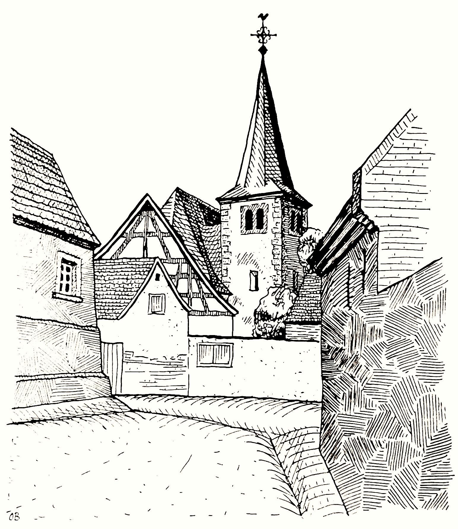 1963: Evangelische Kirche