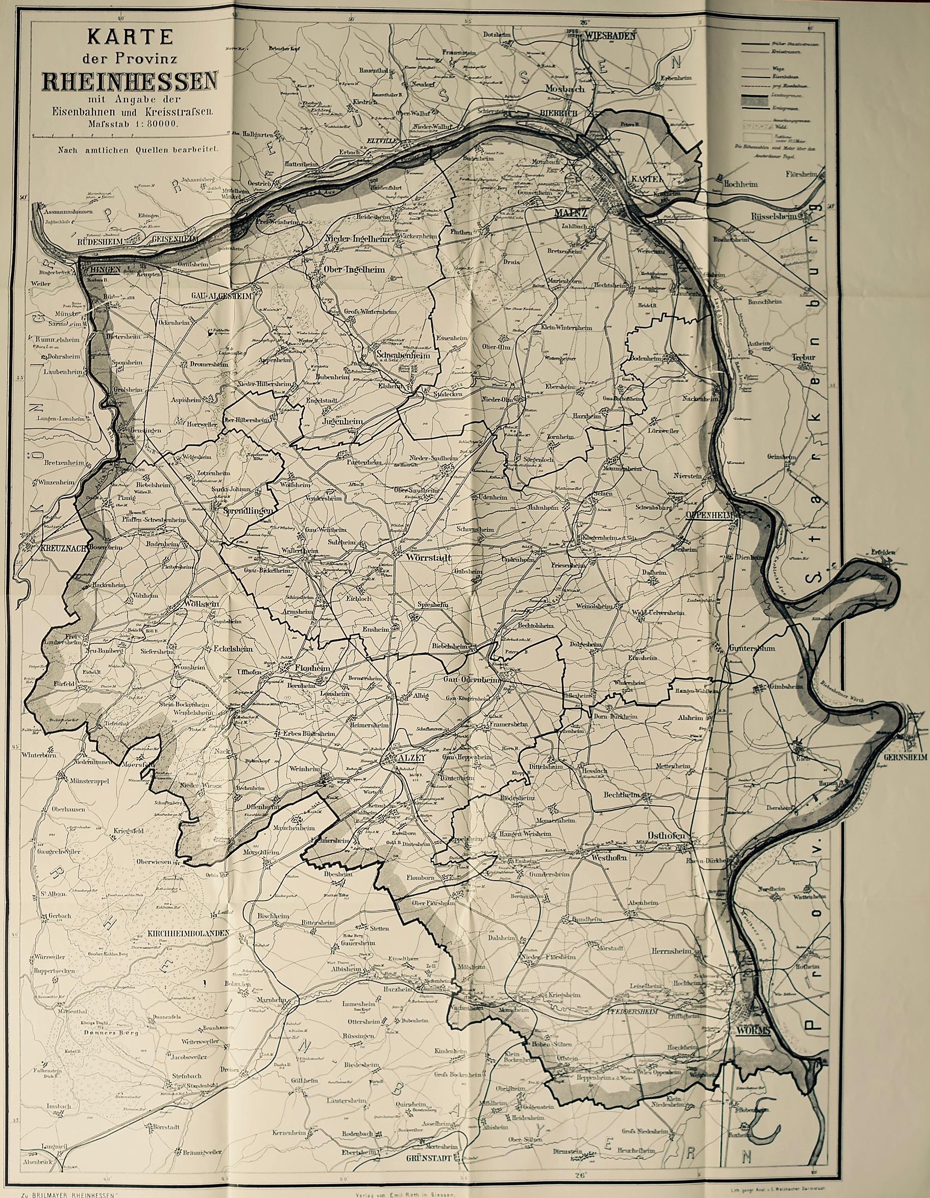 1906: Provinz Rheinhessen