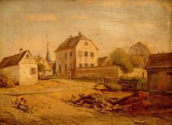 1855: Das Pfarrhaus in Selzen