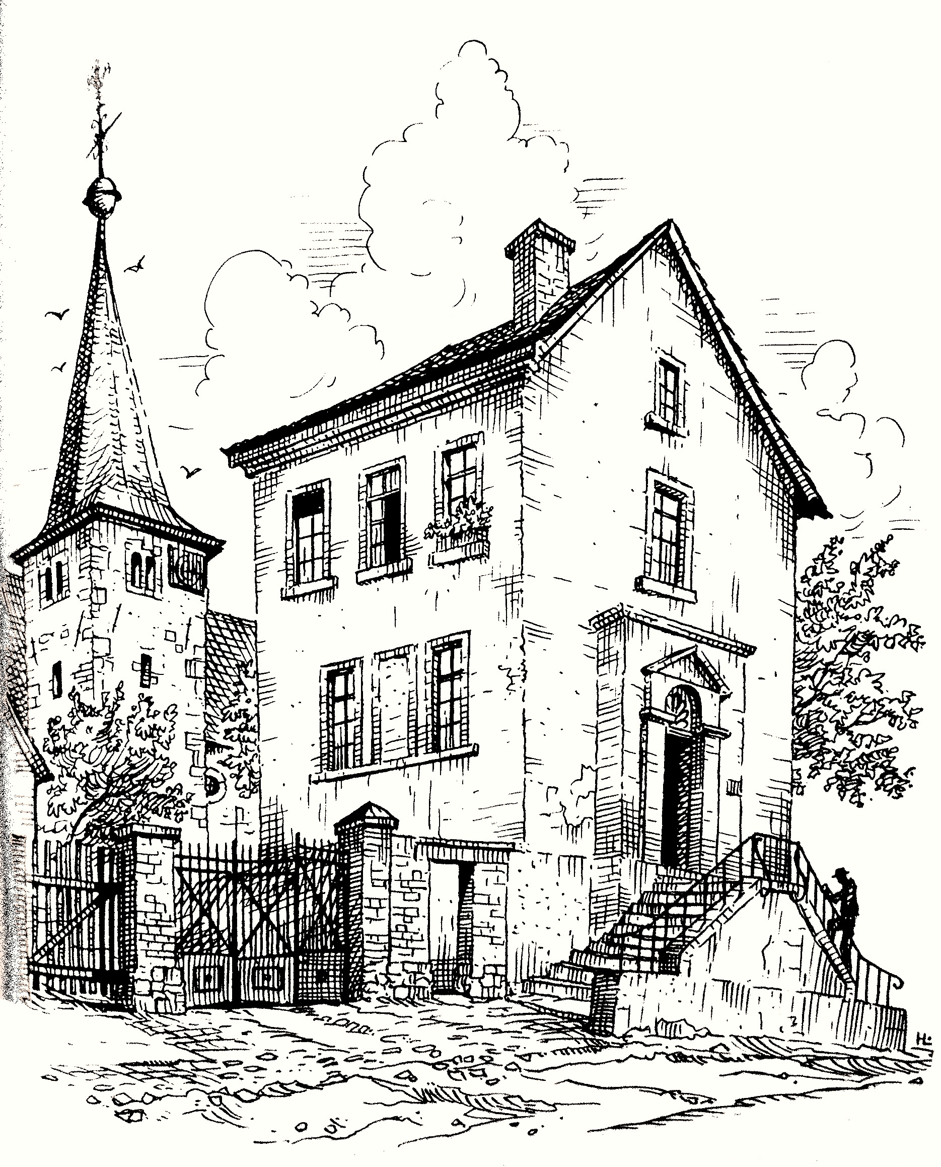 1949: Altes Schulhaus