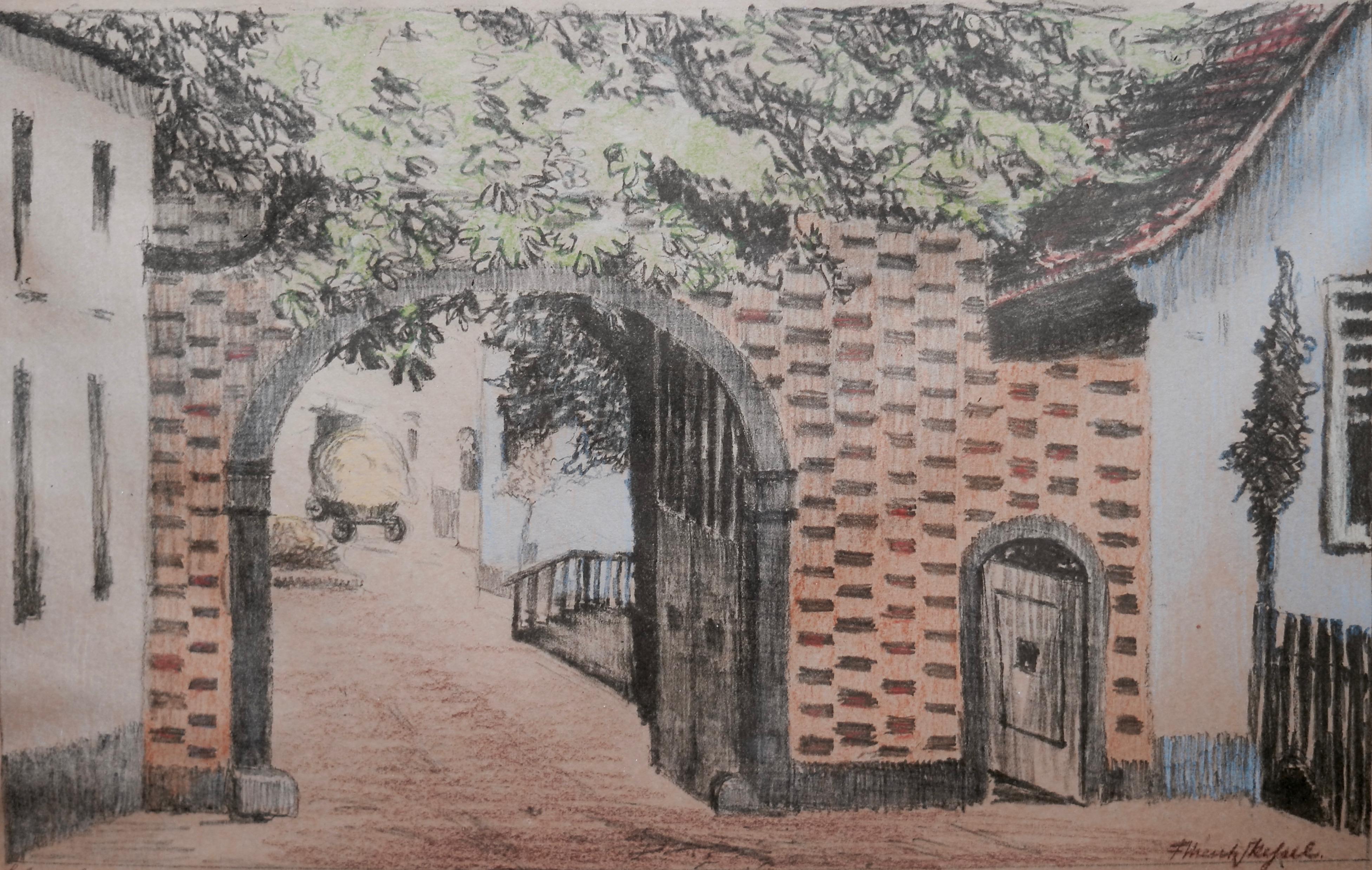 Um 1893: Domhof