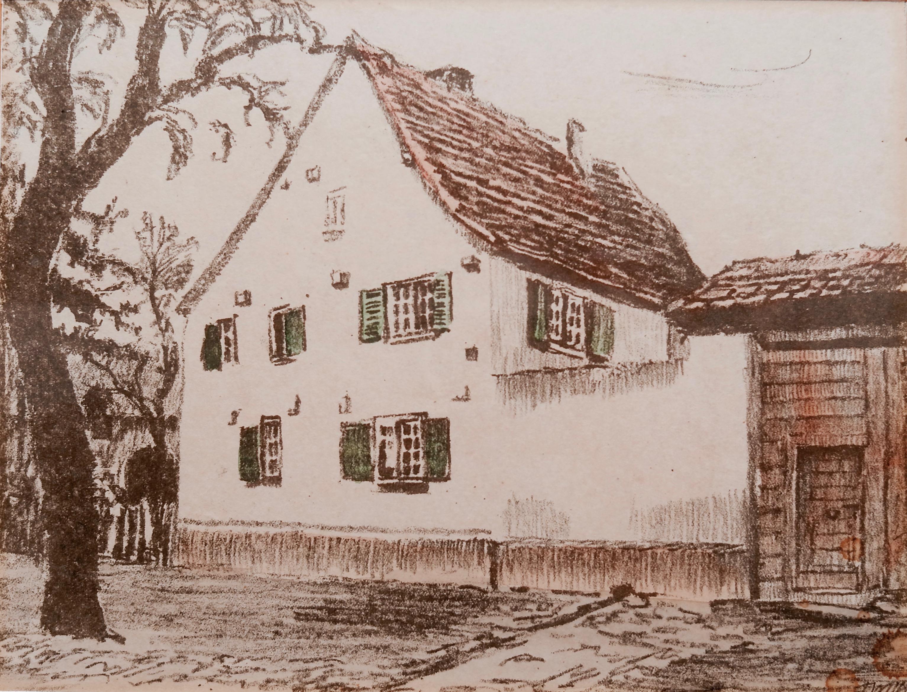 Um 1900: Damaliger Kapellenof