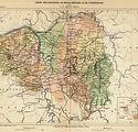1885_Carte des Provinces de Hesse Rhenan