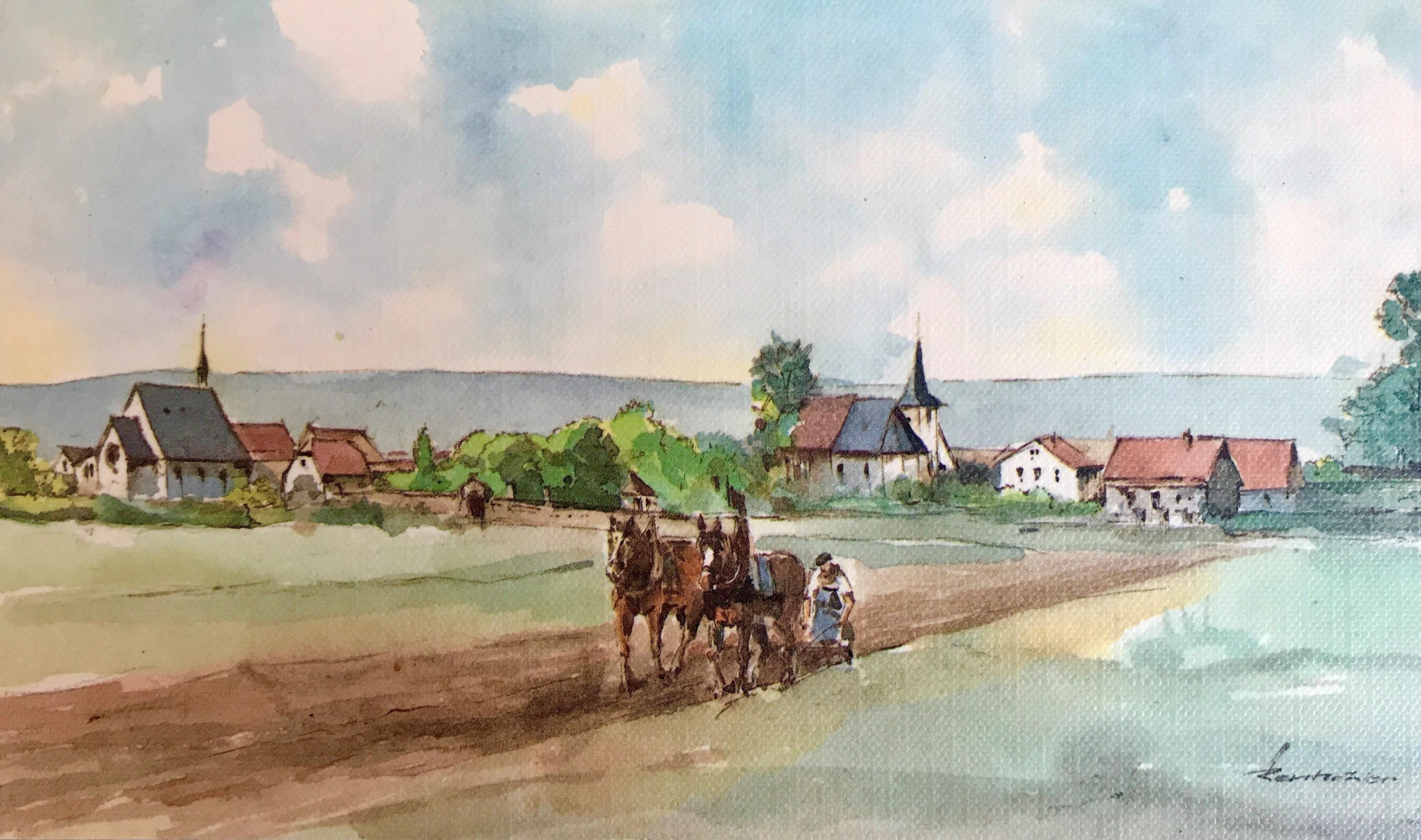 1914: Dorfansicht