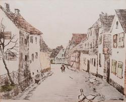 Um 1900: Kapellenstraße