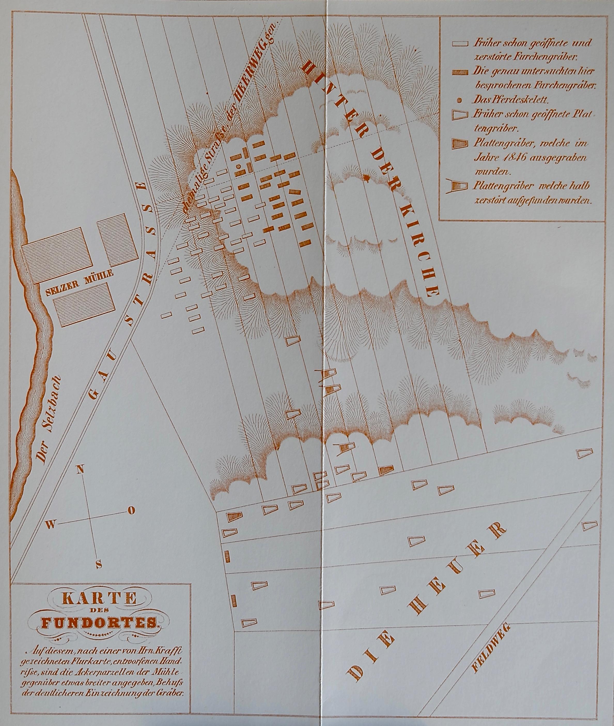 1848: Selzer Gräberfeld