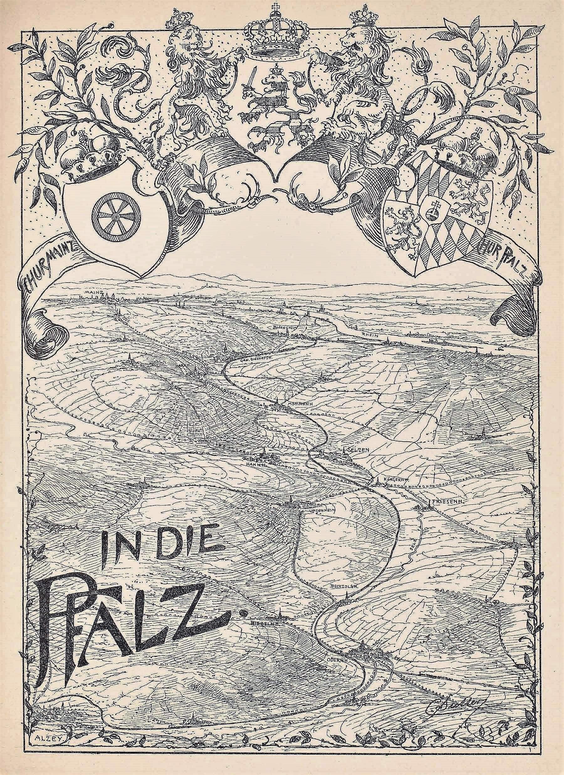 1896: Bahnstrecke Bodenheim-Alzey
