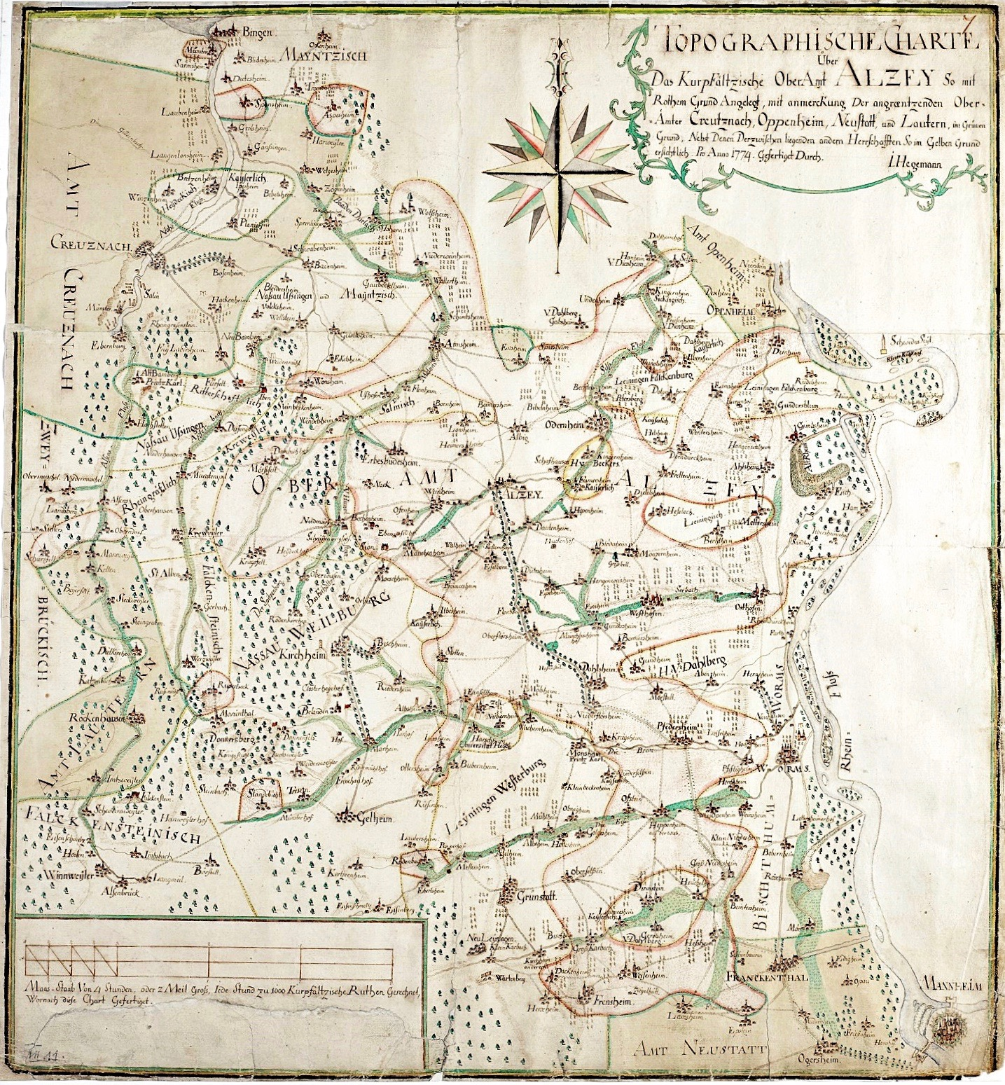 1774: Oberamt Alzey