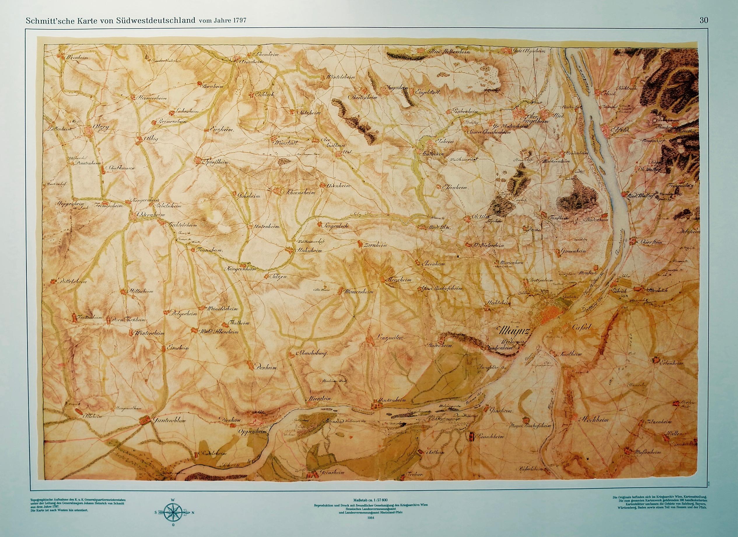 1797: Südwestdeutschland
