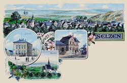 1904: Gruß aus Selzen