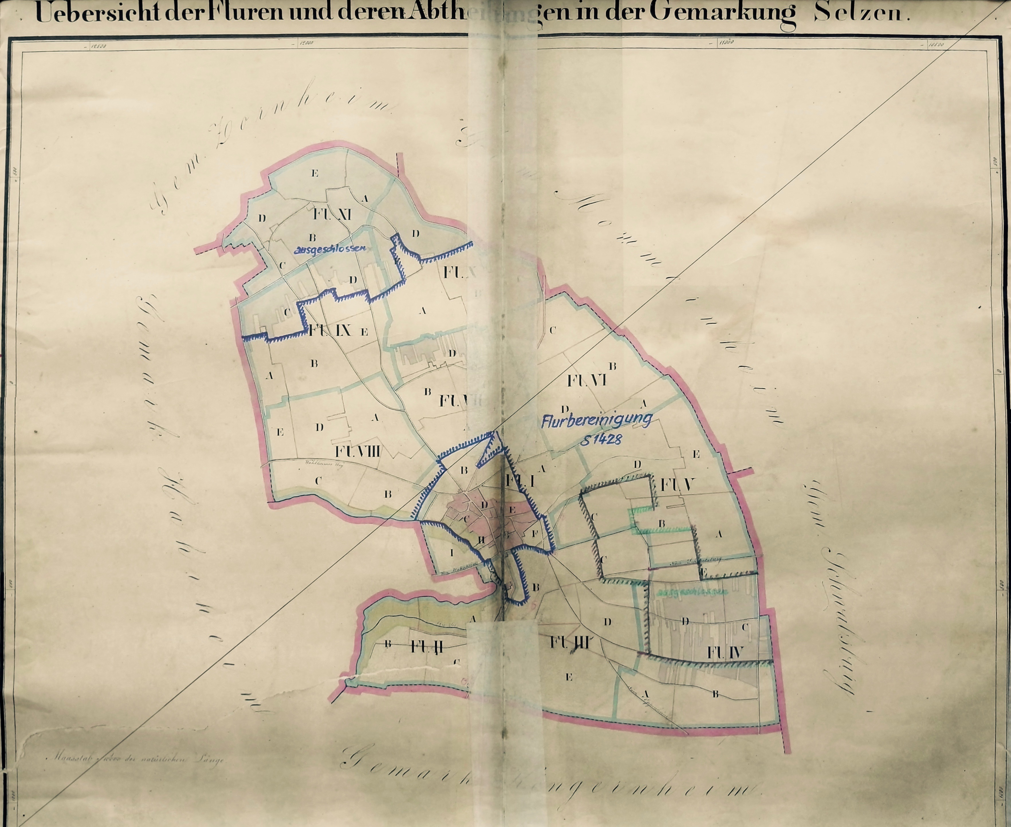 1912: Gemarkung Selzen