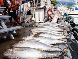 Tuna Fishing in Kona