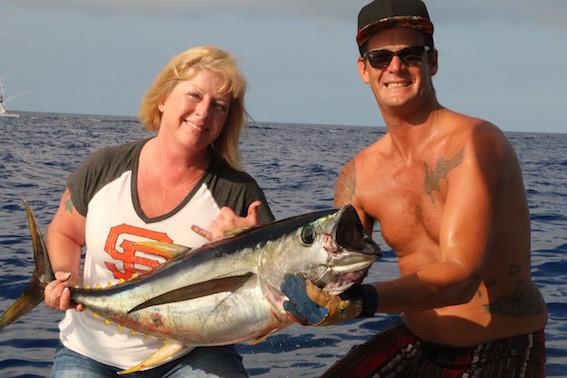 Kona Fishing Ahi