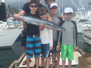 Another great family fishing and snorkeling day in Kona!