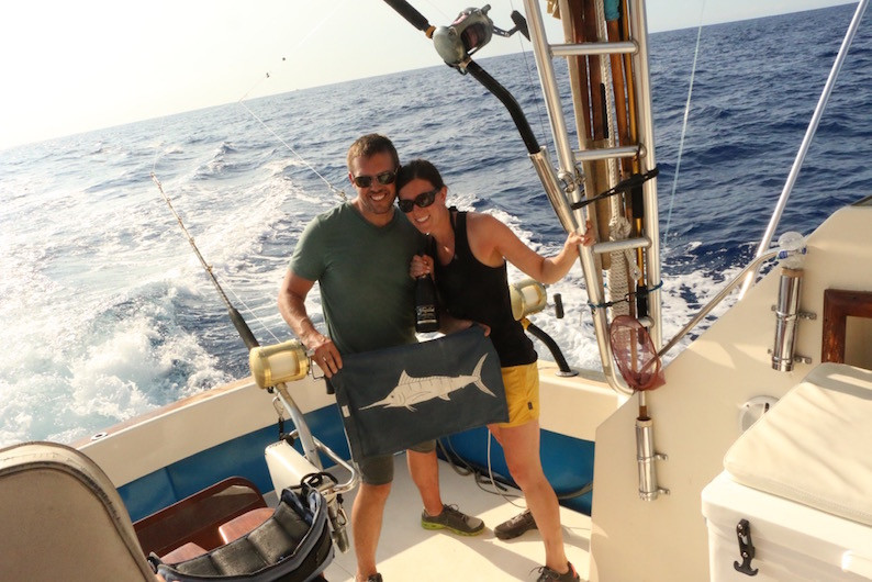 Newly Weds Fishing Kona