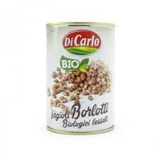 Organic Borlotti Beans Boiled - Fagioli Borlotti Biologici Lessati