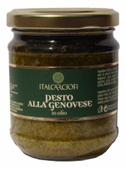 Italcarciofi - Pesto Genovese in Oil