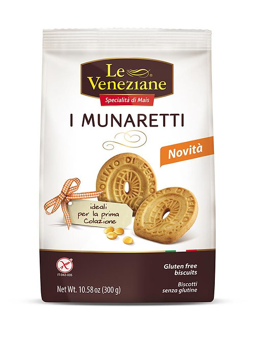 Le Veneziane - Gluten Free Munaretti Cookies