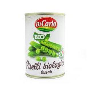 Organic Green Peas In Salted Water - Piselli Biologici Lessati