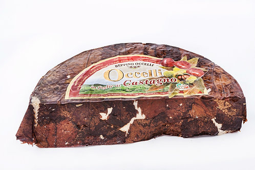 Beppino Occelli - Goat and Cow's Cheese in Chestnut Leaves 200 G