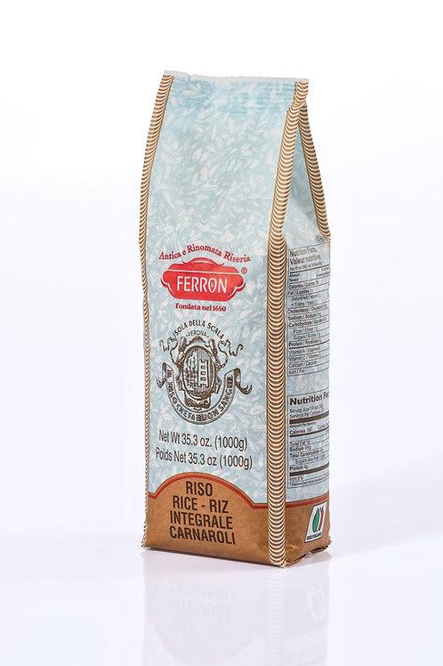 Whole - Grain Carnaroli Rice  - Riso Carnaroli Integrale