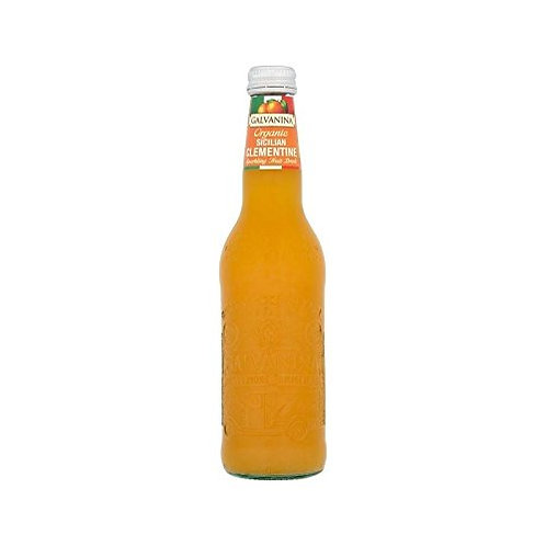 Organic Sicilian Clementine Sparkling Fruit Drink - Galvanina