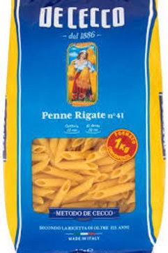 Penne Rigate - Durum Wheat Semolina Pasta - Pasta di Semola di Grano Duro