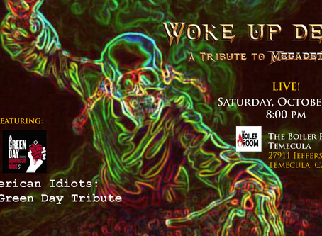 October 19th - Woke Up Dead Live at the Boiler Room