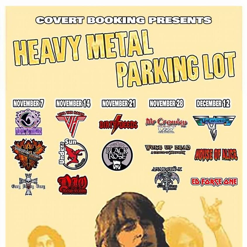 Covert Booking Presents HEAVY METAL PARKING LOT