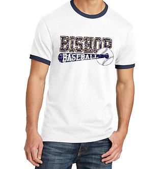 Bishop Baseball/Softball Ringer T-Shirt