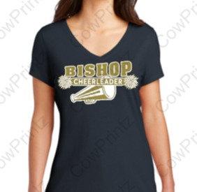 Ladies Bishop Cheerleader t-shirt