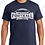 Thumbnail: Cotton/Poly Blend 1-Color Football T-Shirt