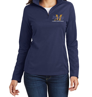 1/4 Zip Ladies Lightweight Performance Pullover