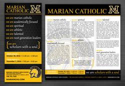 Marian Catholic High School • ads