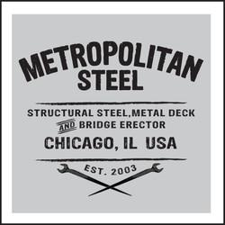 Metropolitan Steel • logo