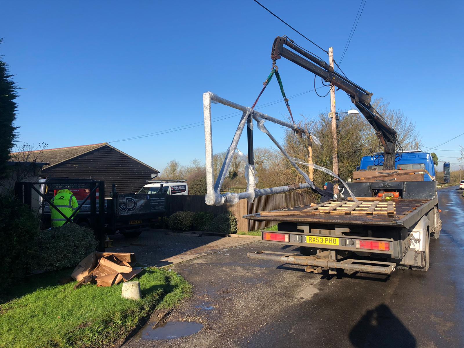 structural steel supplier steel beams Essex welding fabrication