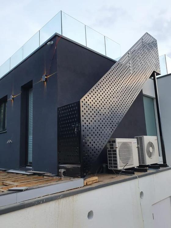 CAD Designed Custom Metal Staircase