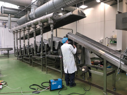 food industry grade 316 stainless industrial welding and fabrication