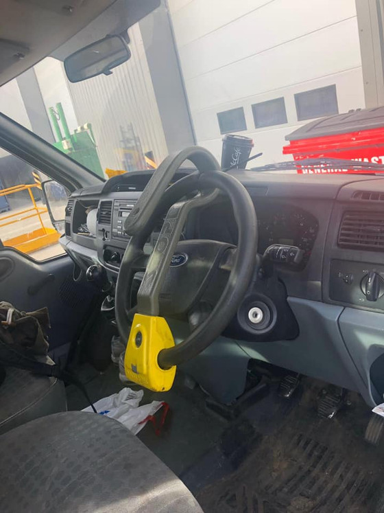 Van Anti Theft Devices