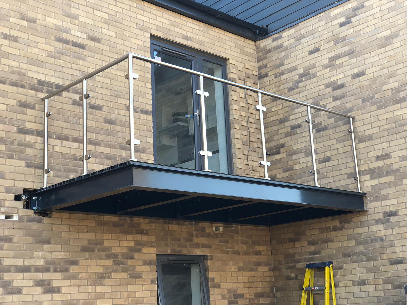newbuild commercial balconies fabrication Juliette balcony