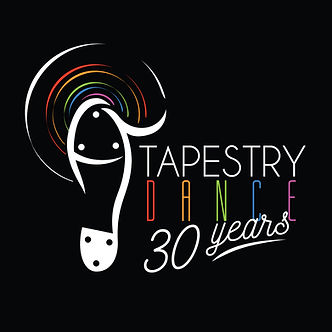 tapestry logo 30th FINAL BLACK  POSTER.j